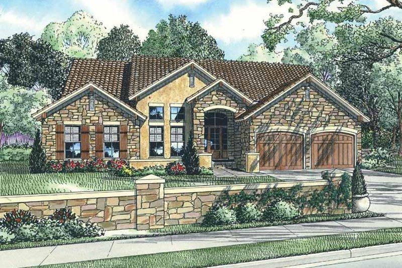 House Plan Design - European Exterior - Front Elevation Plan #17-2922