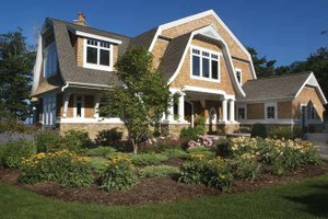 Craftsman Exterior - Front Elevation Plan #928-232