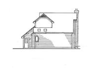 Architectural House Design - Craftsman Exterior - Rear Elevation Plan #320-565