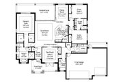 Beach Style House Plan - 4 Beds 3 Baths 2386 Sq/Ft Plan #938-83 Floor Plan - Main Floor Plan