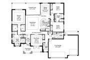 Beach Style House Plan - 4 Beds 3 Baths 2386 Sq/Ft Plan #938-83 Floor Plan - Main Floor