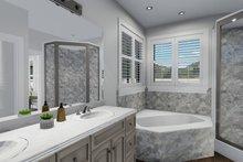 Ranch Interior - Master Bathroom Plan #1060-30