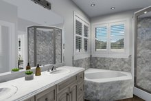 Architectural House Design - Ranch Interior - Master Bathroom Plan #1060-30