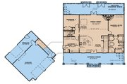 Country Style House Plan - 5 Beds 4 Baths 3889 Sq/Ft Plan #923-200