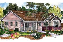 House Design - Farmhouse Exterior - Front Elevation Plan #124-697