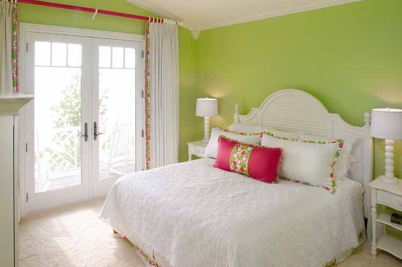 Colonial Interior - Bedroom Plan #928-179 - Houseplans.com