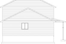 House Plan Design - Traditional Exterior - Other Elevation Plan #1060-33