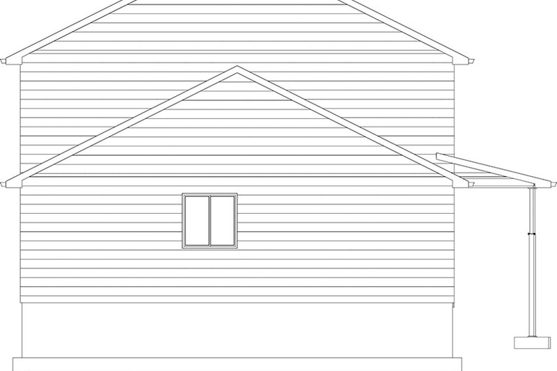 Traditional Exterior - Other Elevation Plan #1060-33 - Houseplans.com