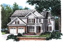 House Plan Design - Country Exterior - Front Elevation Plan #927-808