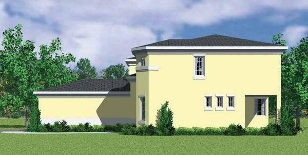 House Blueprint - Mediterranean Floor Plan - Other Floor Plan #72-1129