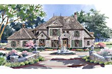 Architectural House Design - Country Exterior - Front Elevation Plan #952-184