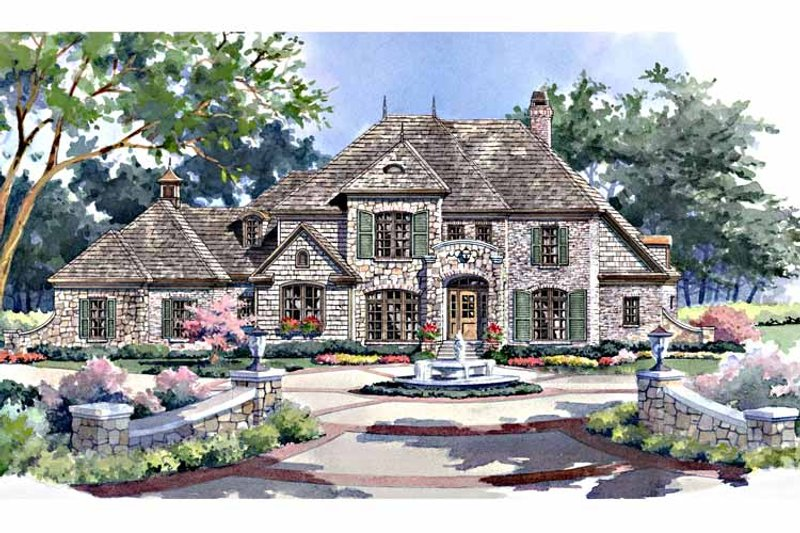 Country Exterior - Front Elevation Plan #952-184 - Houseplans.com