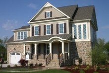 Traditional Exterior - Front Elevation Plan #927-938