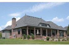 Architectural House Design - Cottage Exterior - Rear Elevation Plan #11-279
