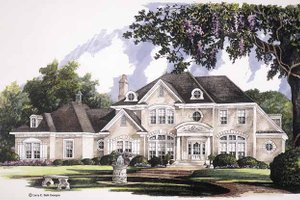 Dream House Plan - Classical Exterior - Front Elevation Plan #952-247