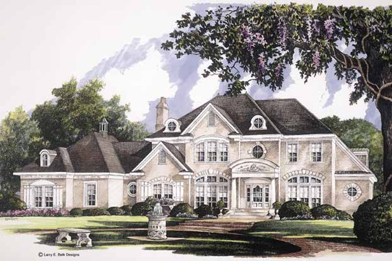 Classical Exterior - Front Elevation Plan #952-247 - Houseplans.com