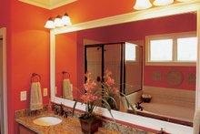 House Design - Country Interior - Master Bathroom Plan #927-9