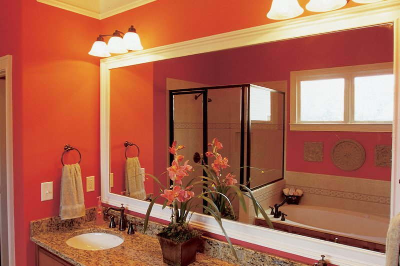 Country Interior - Master Bathroom Plan #927-9 - Houseplans.com