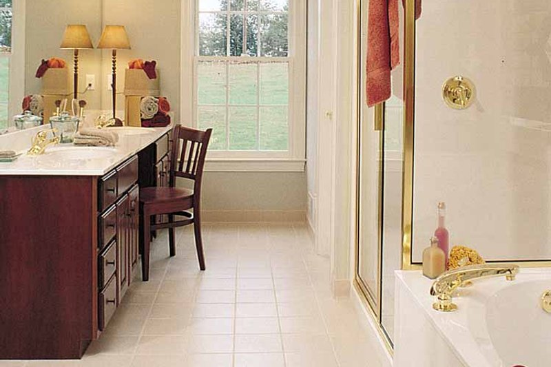 Country Interior - Bathroom Plan #929-377 - Houseplans.com