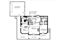Craftsman Floor Plan - Main Floor Plan Plan #117-841