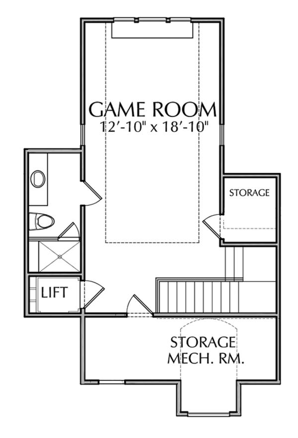 Dream House Plan - Mediterranean Floor Plan - Other Floor Plan #1021-14