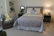 Craftsman Style House Plan - 4 Beds 3.5 Baths 2506 Sq/Ft Plan #20-2325 Interior - Bedroom