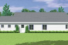 House Blueprint - Country Exterior - Other Elevation Plan #72-1081