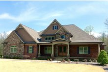 Dream House Plan - European Exterior - Front Elevation Plan #437-62