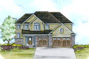 Traditional Style House Plan - 4 Beds 2.5 Baths 2195 Sq/Ft Plan #20-2112 Exterior - Front Elevation
