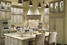 Dream House Plan - European Interior - Kitchen Plan #48-878
