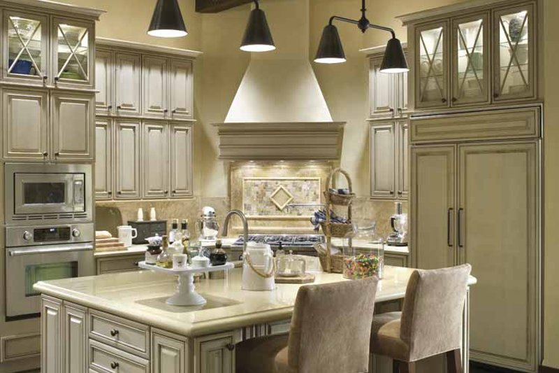 European Interior - Kitchen Plan #48-878 - Houseplans.com