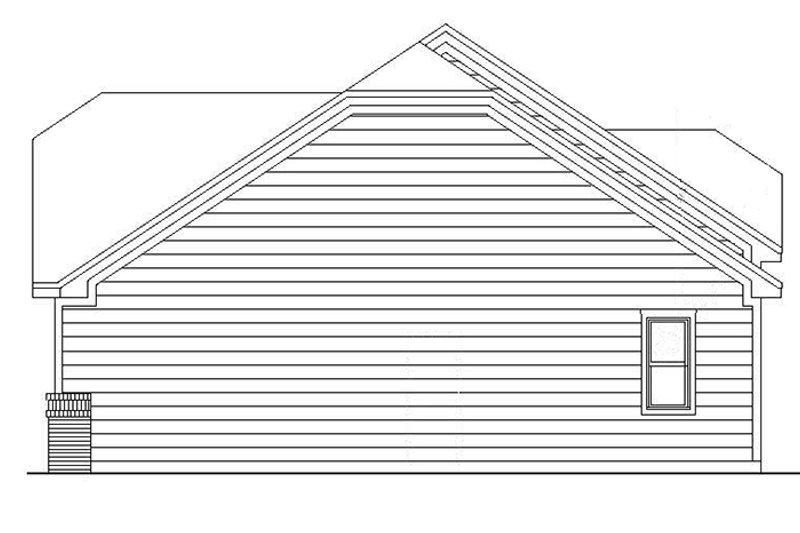 European Exterior - Other Elevation Plan #942-8 - Houseplans.com