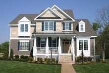 Country Exterior - Front Elevation Plan #927-631