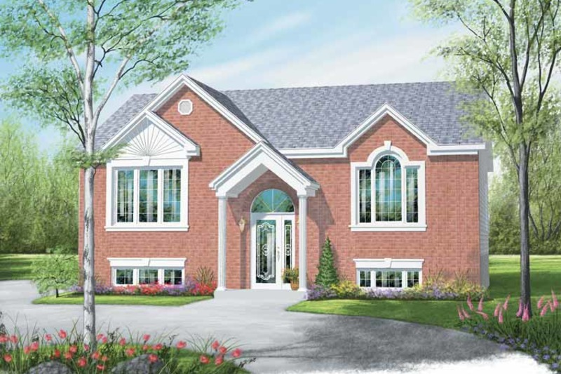 Traditional Exterior - Front Elevation Plan #23-2362
