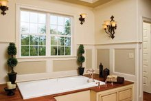 Architectural House Design - Traditional Interior - Master Bathroom Plan #929-778