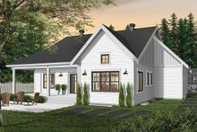 Dream House Plan - Farmhouse Exterior - Rear Elevation Plan #23-2679