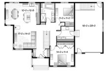 Country Floor Plan - Main Floor Plan Plan #23-2570
