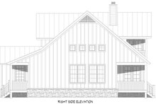 Architectural House Design - Farmhouse Exterior - Other Elevation Plan #932-394