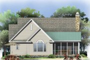 Craftsman Style House Plan - 3 Beds 2 Baths 2154 Sq/Ft Plan #929-795 Exterior - Rear Elevation