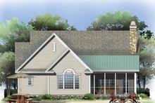 Craftsman Exterior - Rear Elevation Plan #929-795