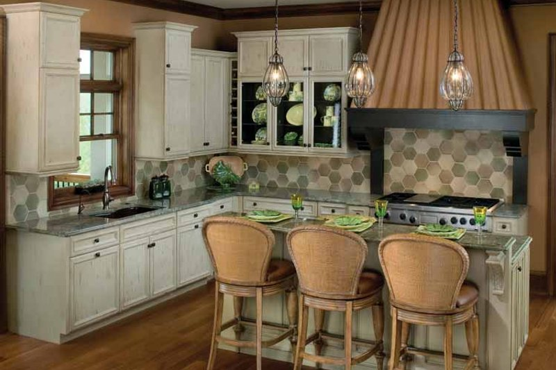 Classical Interior - Kitchen Plan #928-55 - Houseplans.com