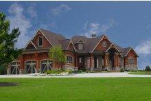 Craftsman Exterior - Front Elevation Plan #54-385