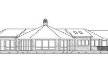 Craftsman Exterior - Rear Elevation Plan #124-861