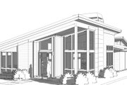 Modern Style House Plan - 3 Beds 2 Baths 1851 Sq/Ft Plan #895-124