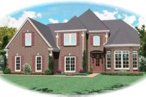 Traditional Exterior - Front Elevation Plan #81-970
