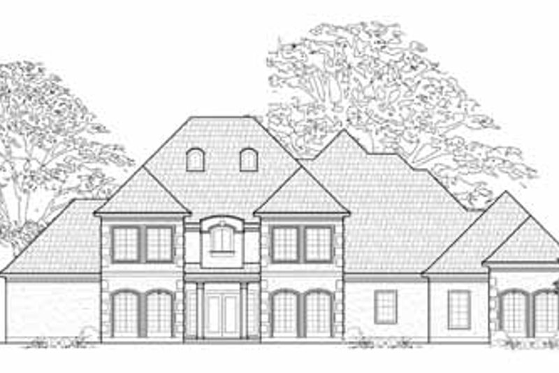 Traditional Exterior - Front Elevation Plan #61-169 - Houseplans.com