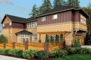 Cottage Style House Plan - 3 Beds 2.5 Baths 2111 Sq/Ft Plan #48-265