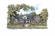 Craftsman Style House Plan - 4 Beds 3 Baths 2959 Sq/Ft Plan #929-848 Exterior - Front Elevation