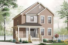 Country Exterior - Front Elevation Plan #23-2550