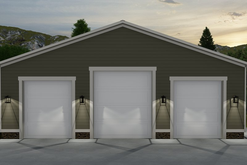 Dream House Plan - Traditional Exterior - Front Elevation Plan #1060-71